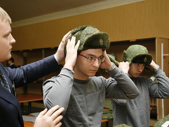 шапка ушанка военнослужащих