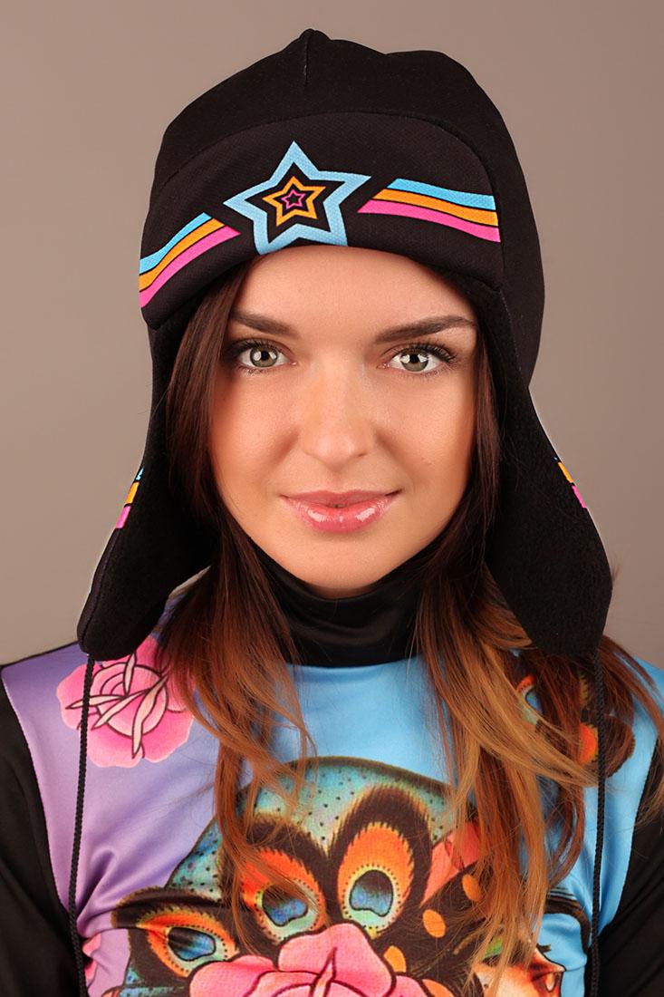 шапка ушанка звезда